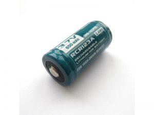 Baterie OLIGHT RCR123A 650 mAh 3,7V dobíjecí