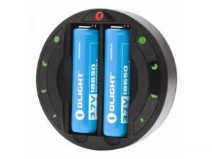 Univerzální nabíječka baterií Olight OMNI-DOK CR123, 18650, AA, AAA