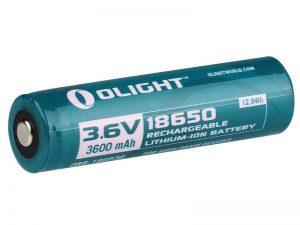 Baterie Olight 18650 – dobíjecí 3600 mAh 3,7V