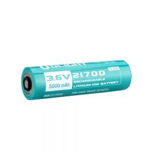 Baterie Olight 21700 – dobíjecí 5000 mAh 3,6V litium