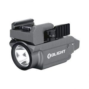 Světlo na zbraň Olight Baldr Mini Gunmetal 600 lm – zelený laser limitovaná edice