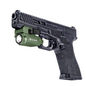 Světlo na zbraň Olight PL MINI 2 Valkyrie Green 600 lm – Limitovaná edice