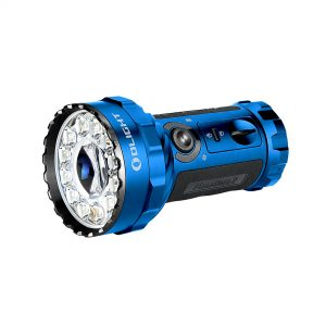 LED svítilna Olight Marauder 2 14000 lm s možností bodového svícení blue – limitovaná edice