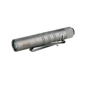 LED svítilna Olight I3T EOS 180 lm – Titanium limitovaná edice