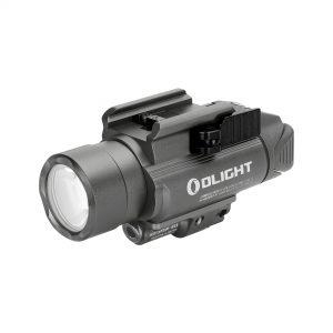 Světlo na zbraň Olight Baldry Pro 1350 lm – zelený laser gunmetal grey limitovaná edice