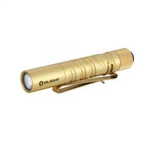 LED svítilna Olight I3T EOS 180 lm – Brass limitovaná edice