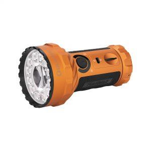 LED svítilna Olight Marauder 2 14000 lm s možností bodového svícení orange – limitovaná edice