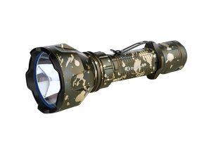 LED baterka Olight Warrior X Turbo 1100 lm Desert Camouflage – limitovaná edice