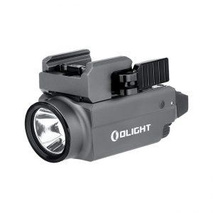 Světlo na zbraň Olight Baldr S 800 lm Gunmetal Grey – zelený laser limitovaná edice